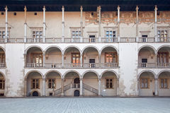 Wawel Castle Στοκ Φωτογραφία