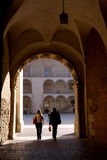 Wawel castle Royalty Free Stock Photos