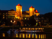 Free Wawel Castle By Night Royalty Free Stock Photo - 44237125