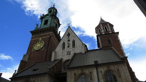 Wawel Castle Cathedral Royalty Free Stock Image