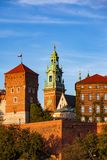 Wawel Castle and Cathedral in Krakow royalty free stock images