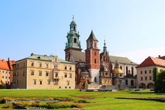 Wawel Castle complex in Krakow Stock Photography