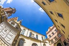 Wawel Castle complex in Krakow Royalty Free Stock Image
