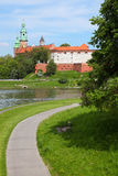 Wawel castle in Cracow Stock Photo