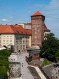 Wawel castle in Cracow. (Poland Stock Photography