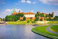 Wawel Castle, Cracow, Poland Stock Image