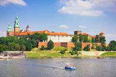 Wawel Castle, Cracow, Poland Stock Photography