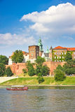 Wawel Castle, Cracow, Poland Royalty Free Stock Images