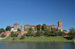 Wawel Castle in Cracow Stock Photo