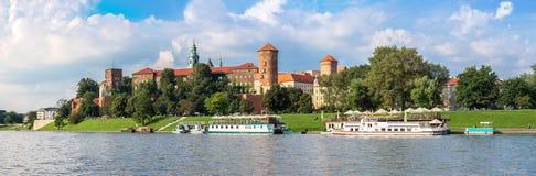 Wawel castle in Kracow Royalty Free Stock Image