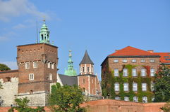 The wawel castle in krakov Royalty Free Stock Photo