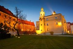 Wawel castle in Krakow. Stock Photos