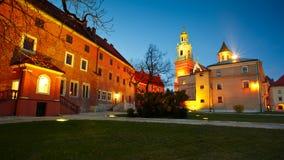 Wawel castle in Krakow. Stock Image