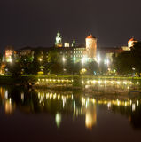 Wawel Castle in Krakow Royalty Free Stock Photos