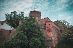 Wawel castle in Krakow stock photo