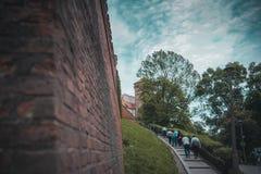 Wawel castle in Krakow royalty free stock photo