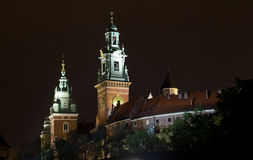 Wawel Castle in Krakow . Stock Image