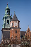 Wawel castle. Krakow, Poland. Stock Images