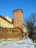 Wawel Castle in Krakow, Poland Stock Photography