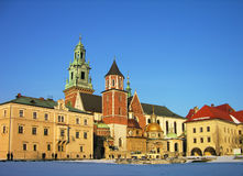 Wawel Castle, Krakow, Poland Stock Photos