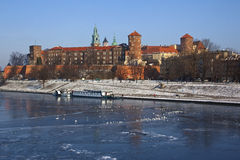 Wawel Castle - Krakow - Poland Stock Photo