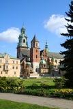 Wawel Castle. Krakow. Poland. Stock Image