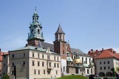 Wawel Castle. Krakow. Poland Royalty Free Stock Image