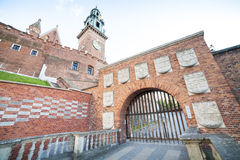 Wawel Castle, Krakow, Poland, Europe Royalty Free Stock Photo