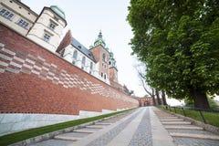 Wawel Castle, Krakow, Poland, Europe Stock Images