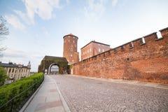 Wawel Castle, Krakow, Poland, Europe Stock Photography