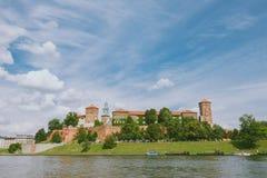 Wawel Castle, Krakow, Poland Stock Image