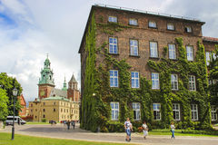Wawel castle, Krakow, Poland Royalty Free Stock Images