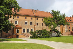Wawel castle, Krakow, Poland Stock Photography