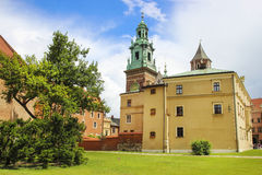 Wawel castle, Krakow, Poland Stock Images