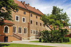Wawel castle, Krakow, Poland Royalty Free Stock Photography