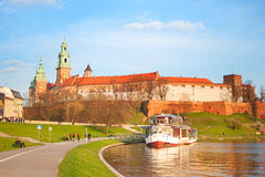 Wawel Castle, Krakow Royalty Free Stock Photo