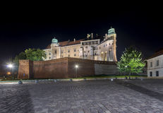 Wawel Castle in Krakow, Poland Royalty Free Stock Photo