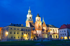 Wawel Castle in Krakow, Poland Royalty Free Stock Photography