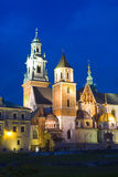 Wawel Castle in Krakow Stock Photography