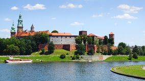 Wawel Castle. Krakow, Poland Stock Photos