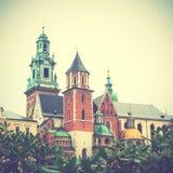 Wawel Castle in Krakow Stock Photography
