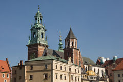 Wawel Castle, Krakow, Poland Royalty Free Stock Photo