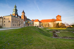 Wawel castle, Krakow, Poland Royalty Free Stock Photo