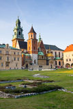 Wawel castle, Krakow, Poland Royalty Free Stock Image