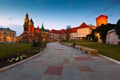 Wawel castle in Krakow. Stock Photography