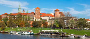 Wawel castle in Krakow Stock Photo