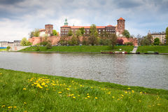 Wawel Castle, Poland Royalty Free Stock Photography
