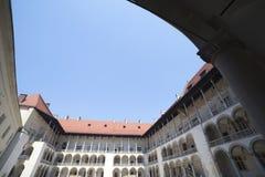 Wawel castle, Poland. Royalty Free Stock Images