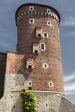 Wawel Castle in Poland. Cracow in a first capital of Poland. Stock Image