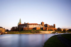Wawel castle in Poland Stock Photos